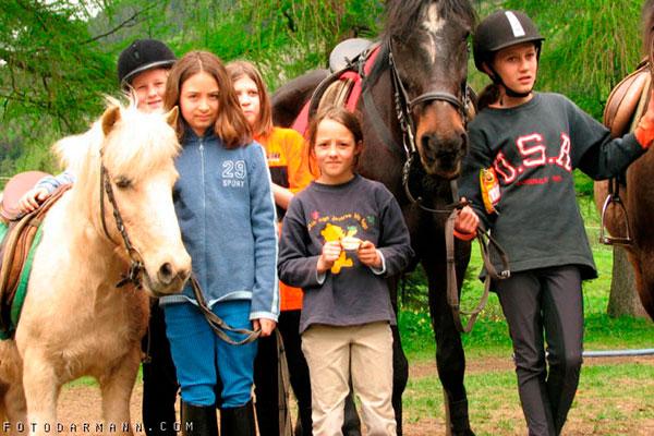 Reiten am Pferdehof Rita